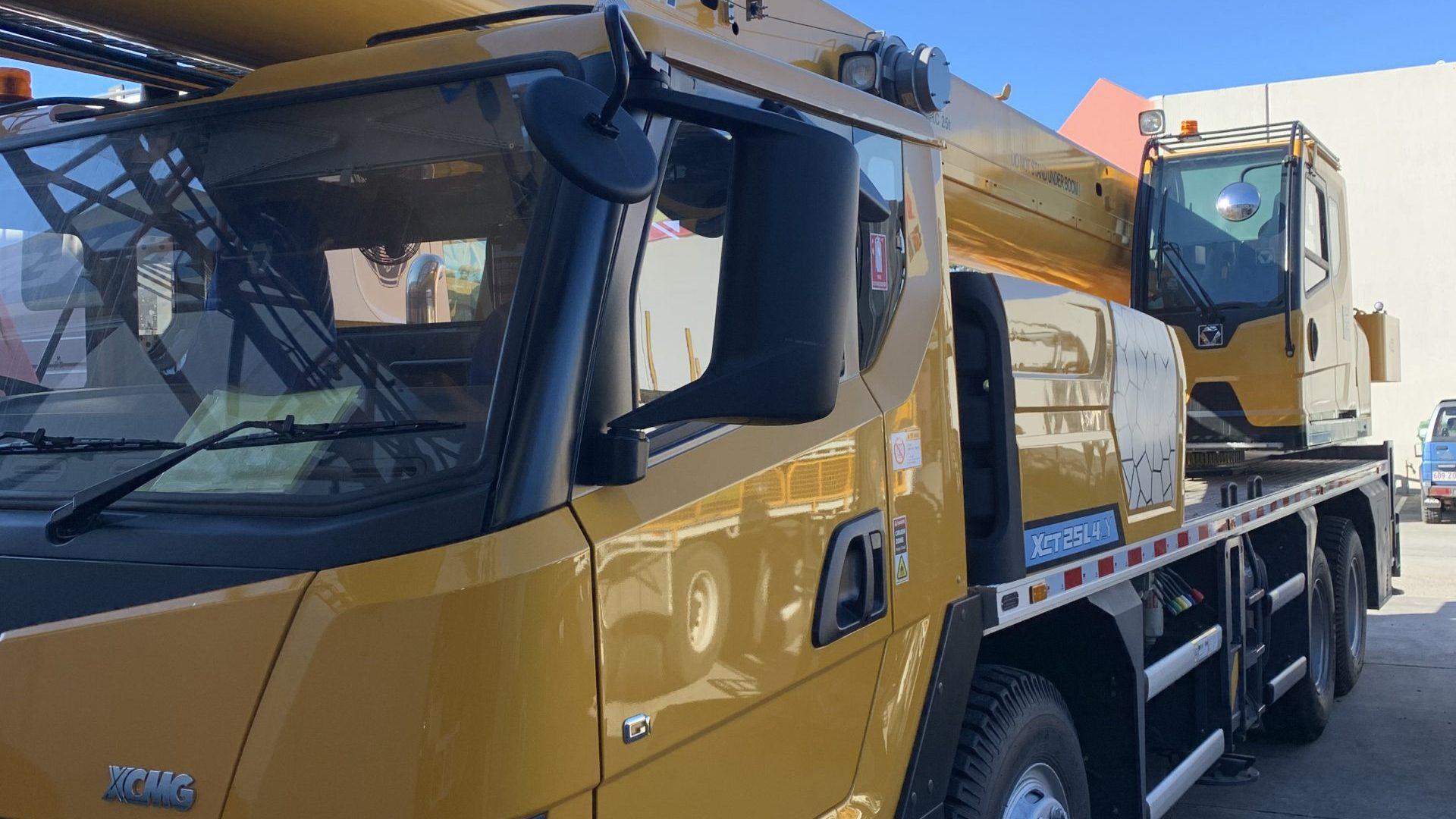 Imported XCMG Vehicle Crane - HDS Brisbane